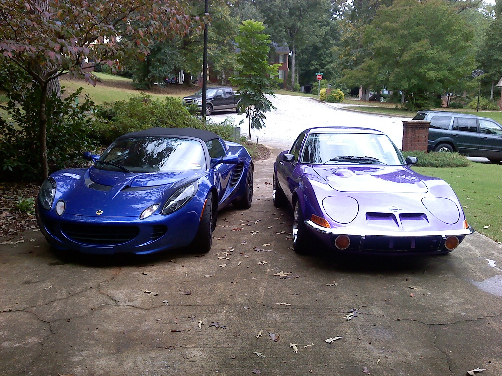 Pics of your Lotus next to \