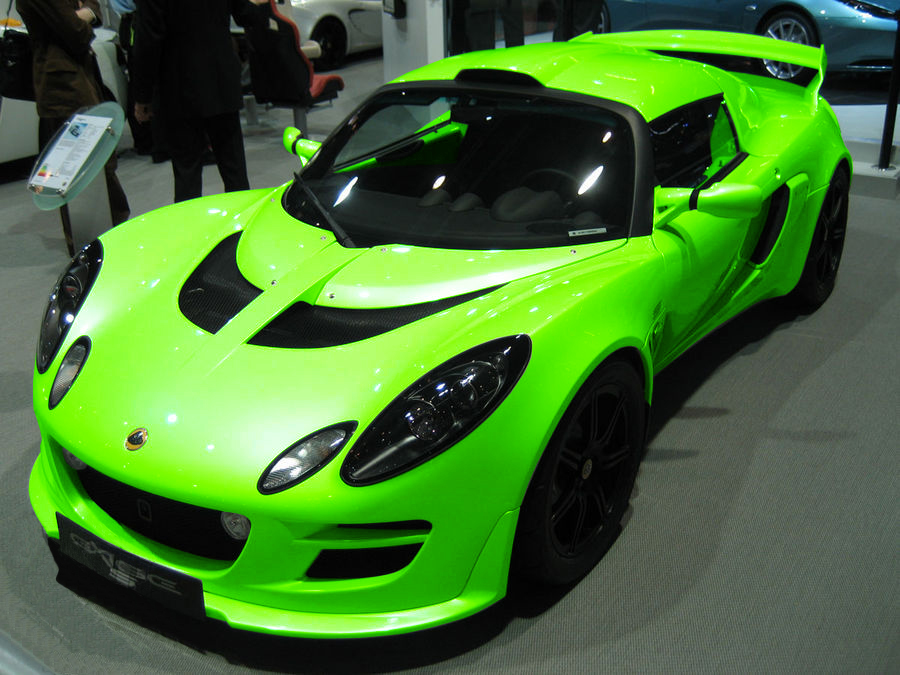 2010 Lotus Exige S Green Edition