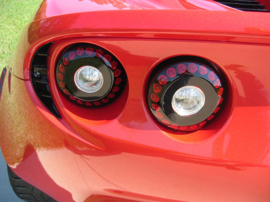 Painted Tail Lights Windshield Frame Headlight Bezel