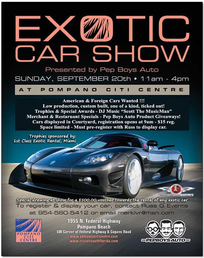 Pompano Beach Exotic Car Show LotusTalk The Lotus Cars Community - Pompano car show