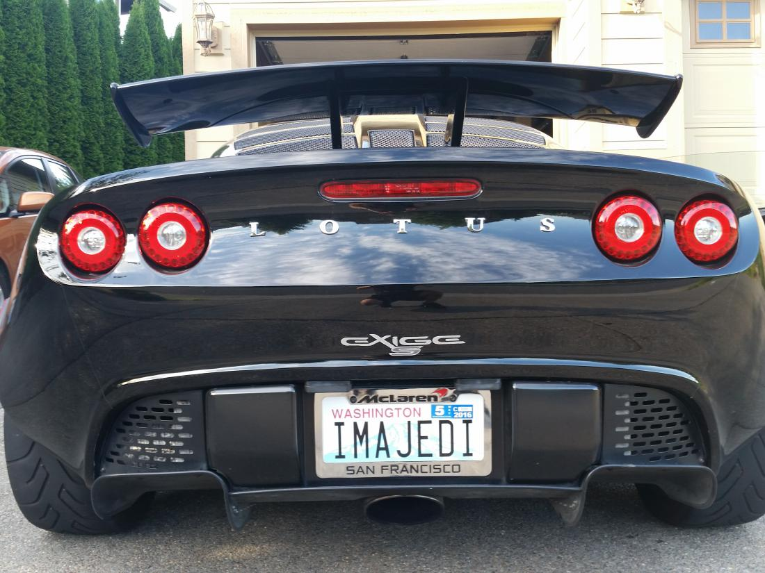 Vanity Plates Arrived Lotustalk The Lotus Cars Community