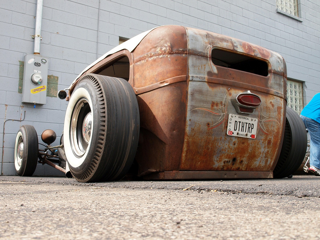 I love Rat Rods.