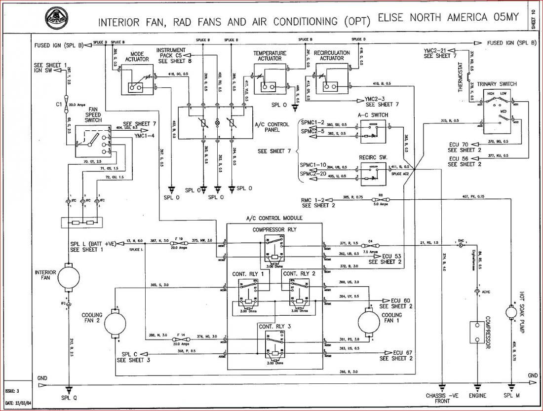 Lotus Exige Wiring Diagram