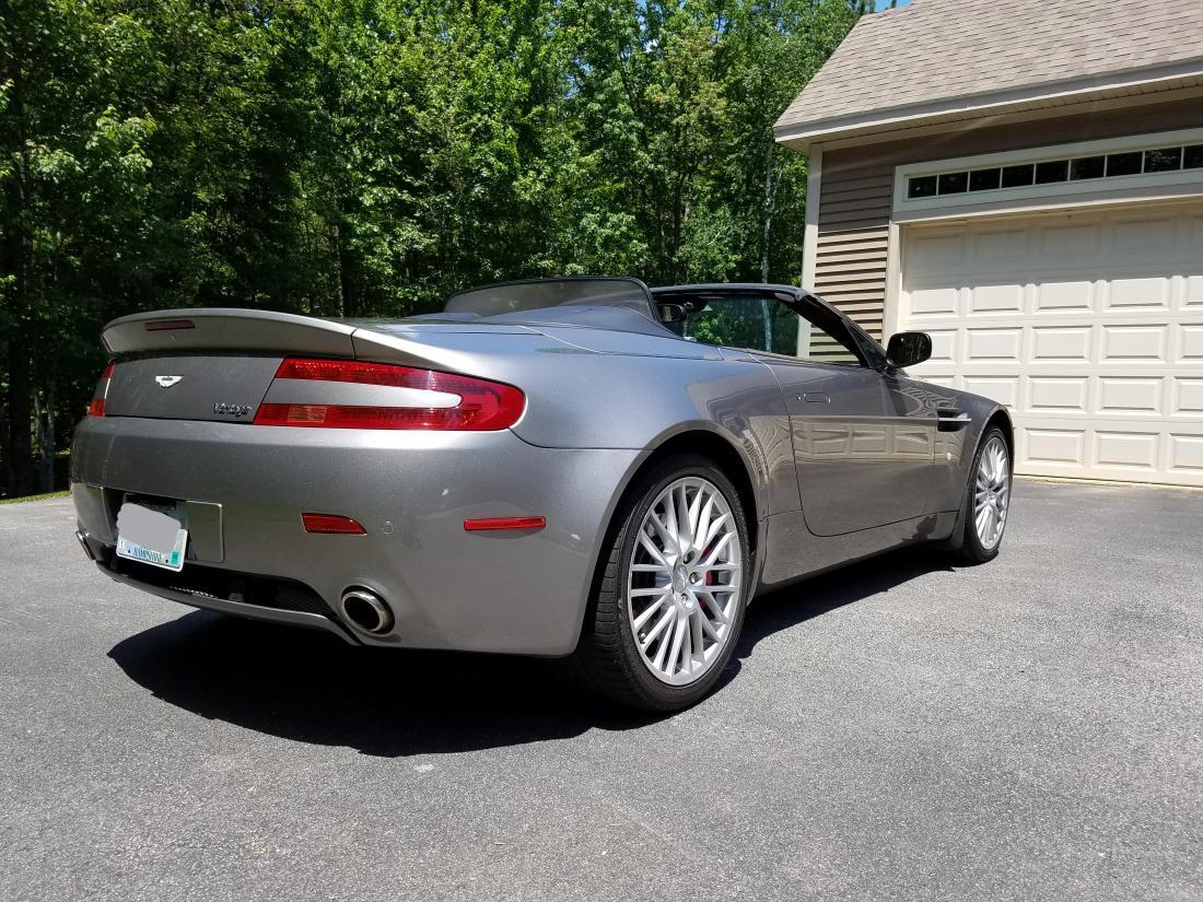2009 Aston Martin V8 Vantage 24k Miles The Lotus Cars Community