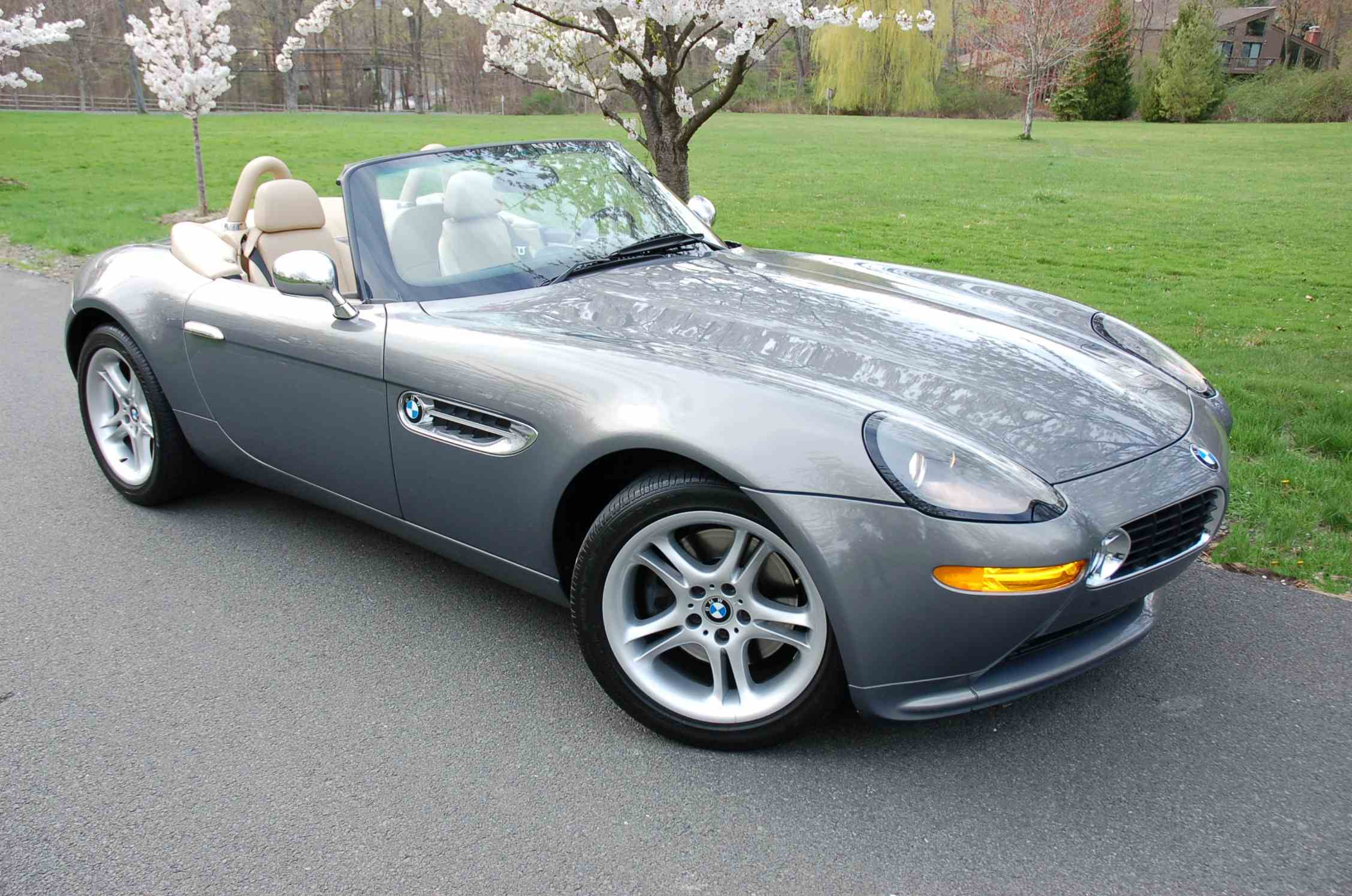 Had to Post. BMW Z8 in Stratus Metallic with Crema leather