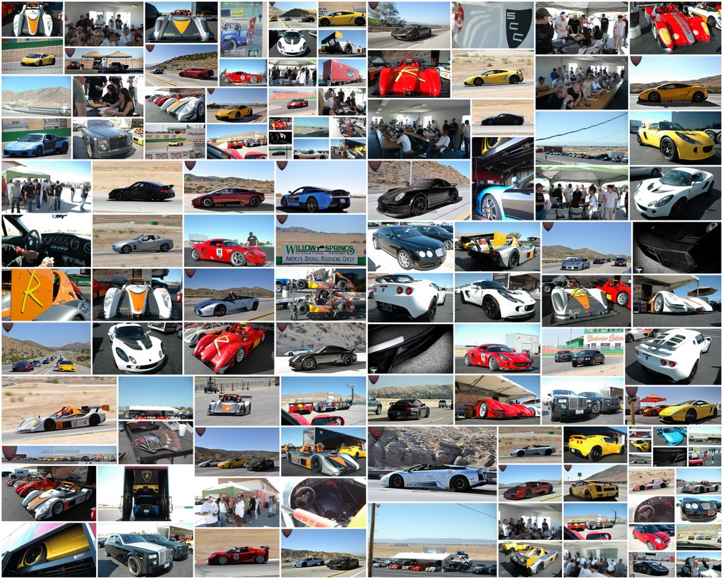 Collage: Specialty Car Craft