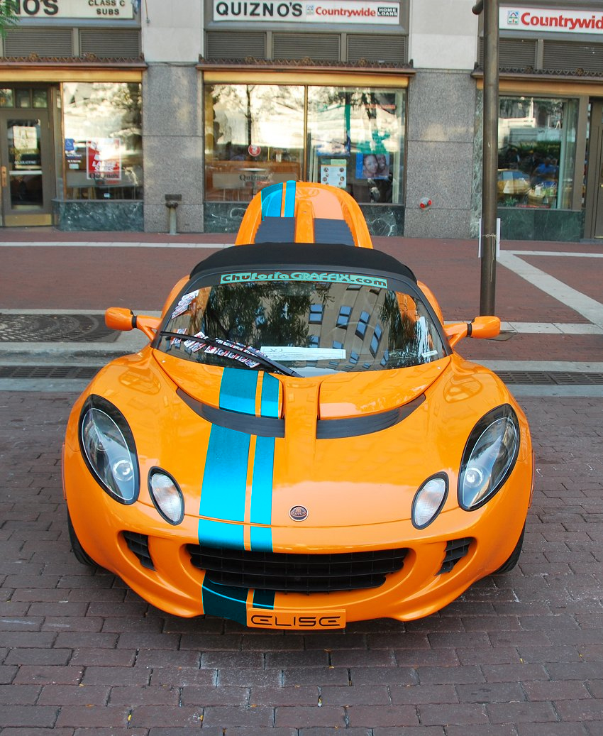 Racing Stripes On A CO Elise?