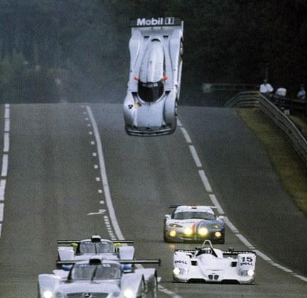Mark Webber, Mercedes CLR GT1, Le Mans 1999