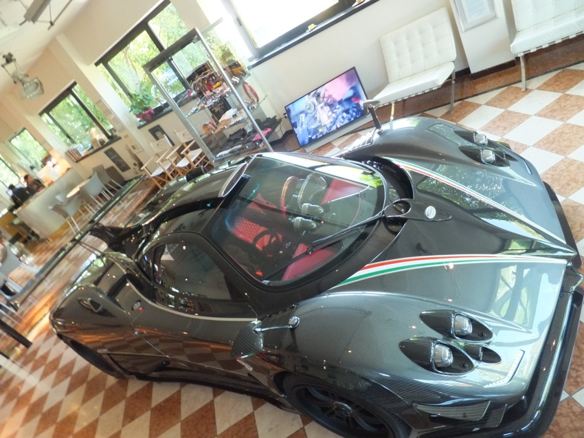 Prototype 0 Pagani Zonda 764 Passione Revealed