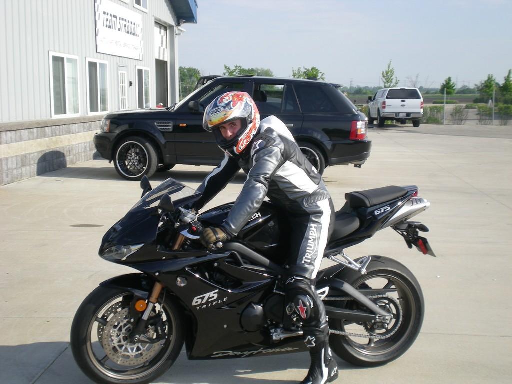 got our new track bike: triumph daytona 675 - lotustalk - the