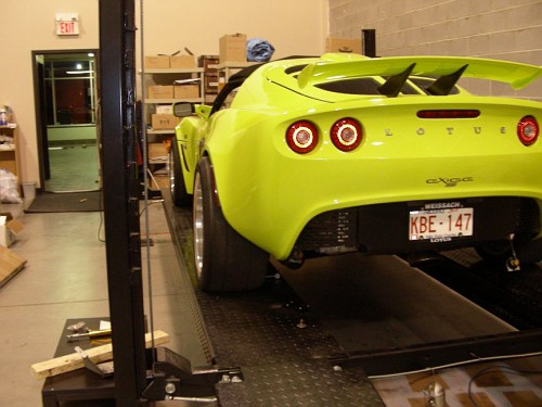 2007 Lotus Elise S. 2007 Exige S Krypton Green: