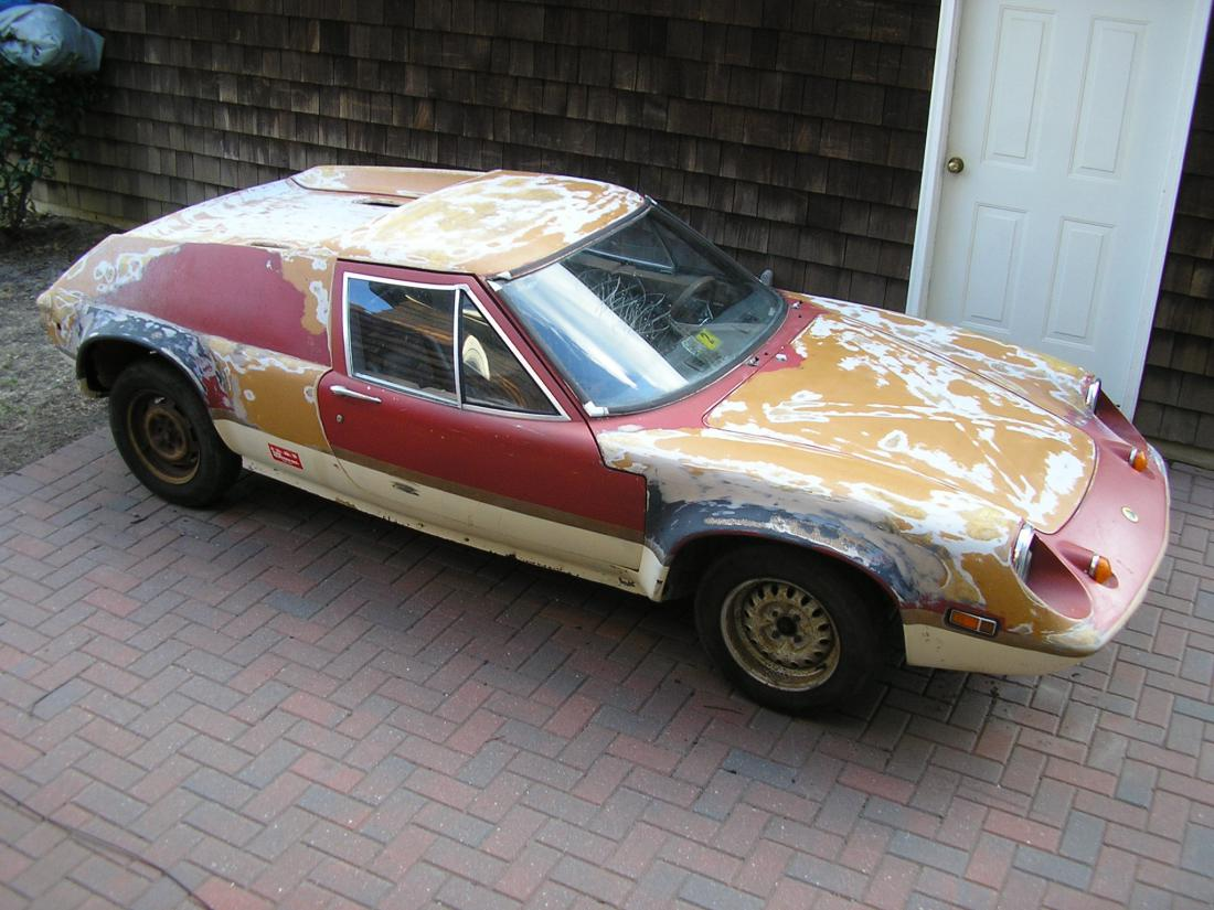 70 Europa S2 project FOR SALE - LotusTalk - The Lotus Cars Community