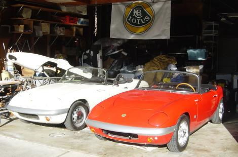 Lotus Elan S2. There#39;s quite a few of us Elan