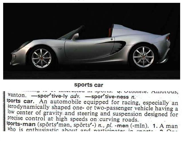 Sports Car Definition LotusTalk The Lotus Cars Community - Sports cars definition