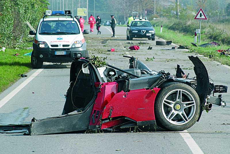 Ferrari Enzo Crash 3