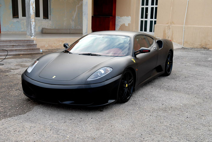 flat black ferrari 430 - lotustalk - the lotus cars community