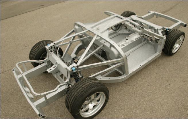 40209D1162039258 2006 Ford Gt Sale Gt Frame