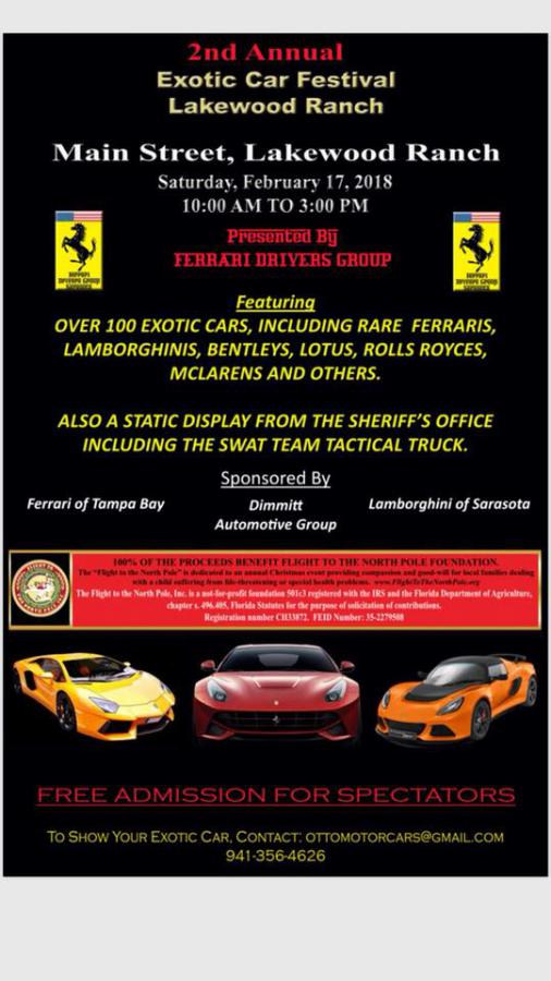 Lakewood Ranch FL Car Show Feb LotusTalk The Lotus Cars Community - Lakewood ranch car show