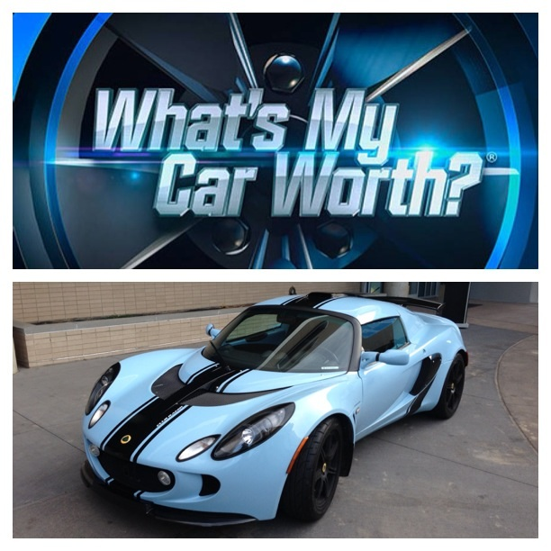 My Car Will Be Featured On The Show Whats My Car Worth LotusTalk - What's my car worth show