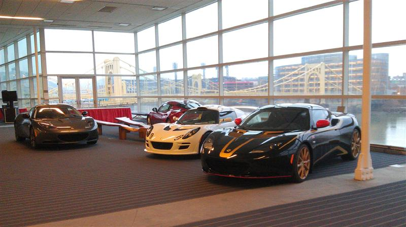 Pittsburgh Intl Auto Show Gallery LotusTalk The Lotus Cars - Pittsburgh car show