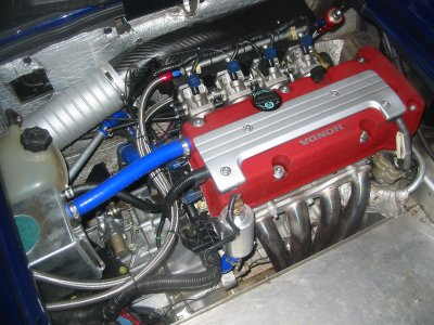 Dean 'Duct tape' Corrodus Honda Rebuild