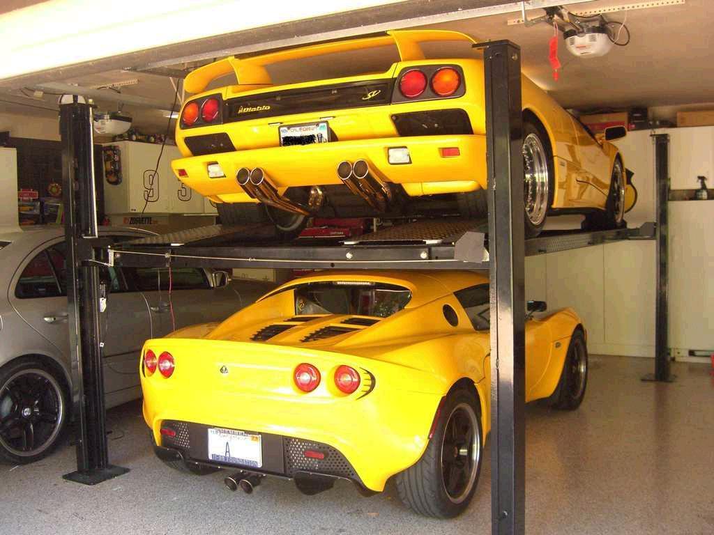 3 cars in a 2 car garage mazda rx7 forum for Garage lotus