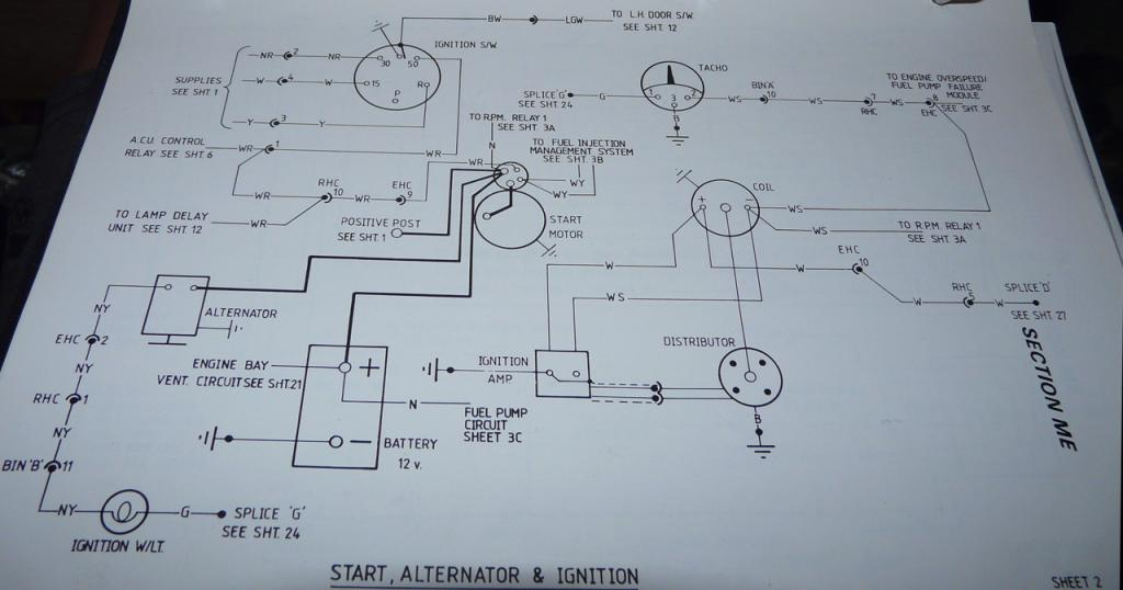1988 Esprit Wiring Diagram? - LotusTalk - The Lotus Cars Community