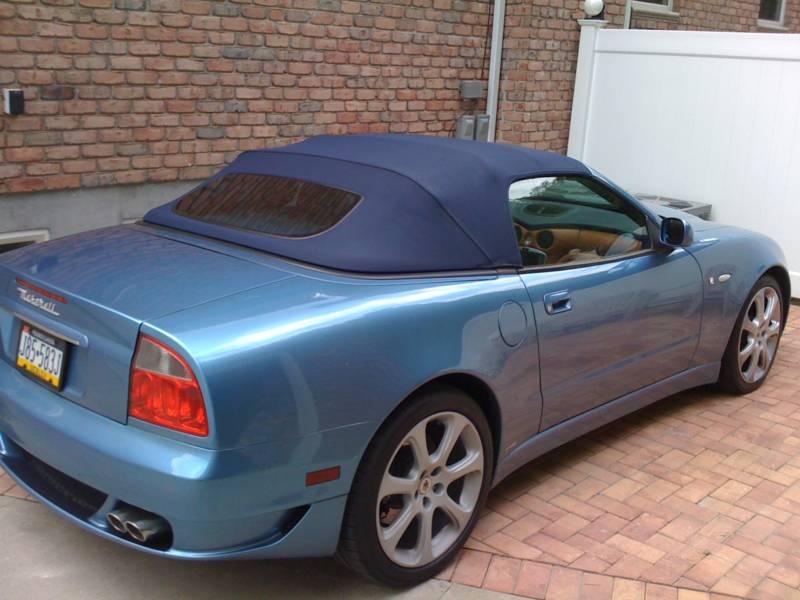 Maserati+spyder+2005