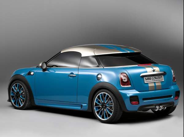 2009 Mini Coupe Concept. Mini Coupe Concept at 2009