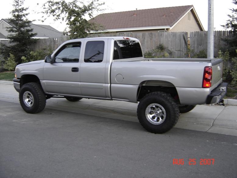 2005 Silverado Single Cab Lifted