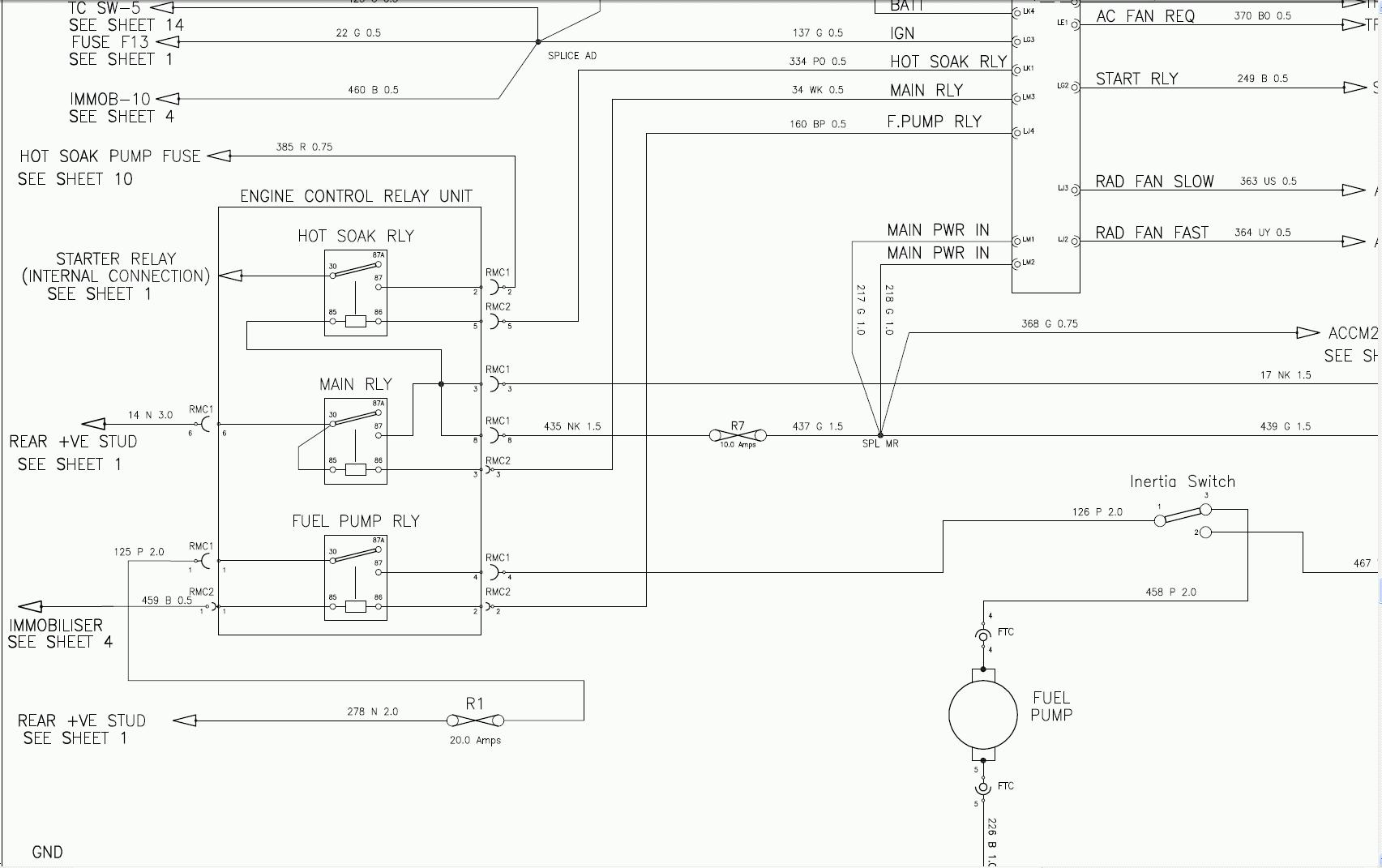 testing mfru multi function relay unit - lotustalk - the lotus, Wiring diagram