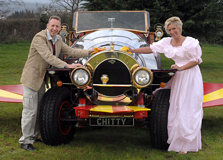 Building Chitty Chitty Bang Bang with the girls - LotusTalk - The Lotus Cars