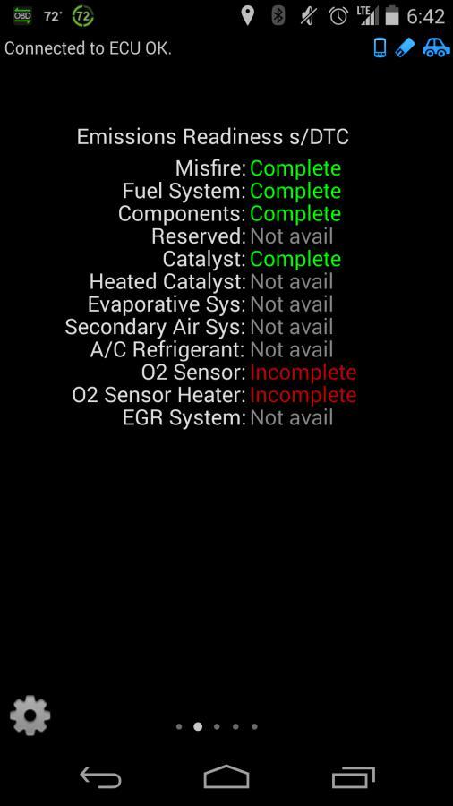 Torque Emmission screen - Sensors incomplete - LotusTalk - The Lotus