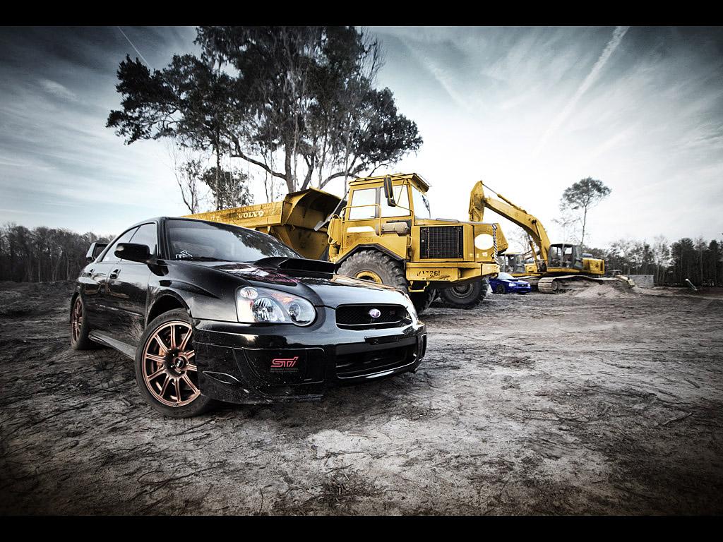 This unique auto body shop and