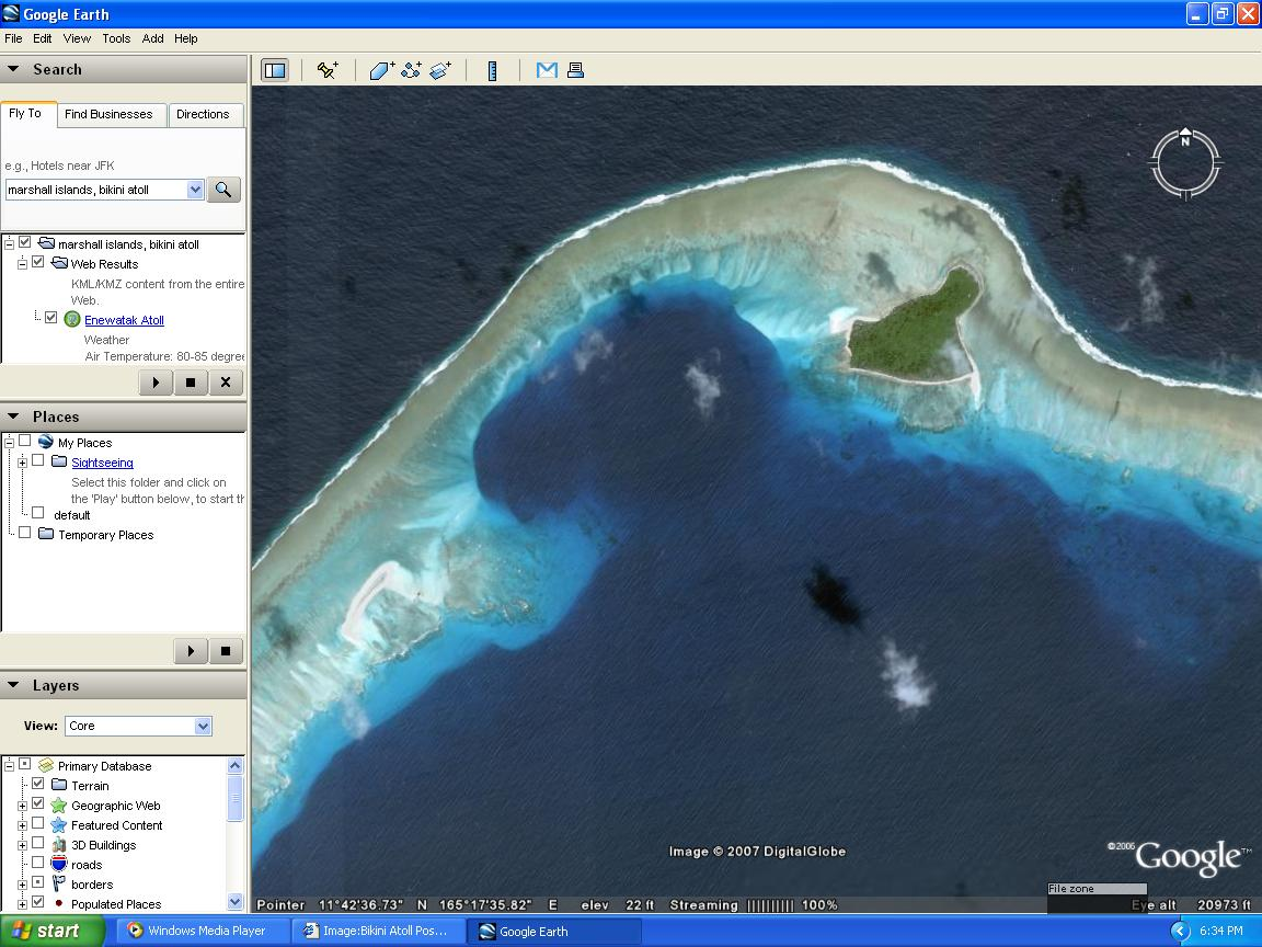 I found a nuclear bomb crater on google earth lotustalk the attached images sciox Choice Image