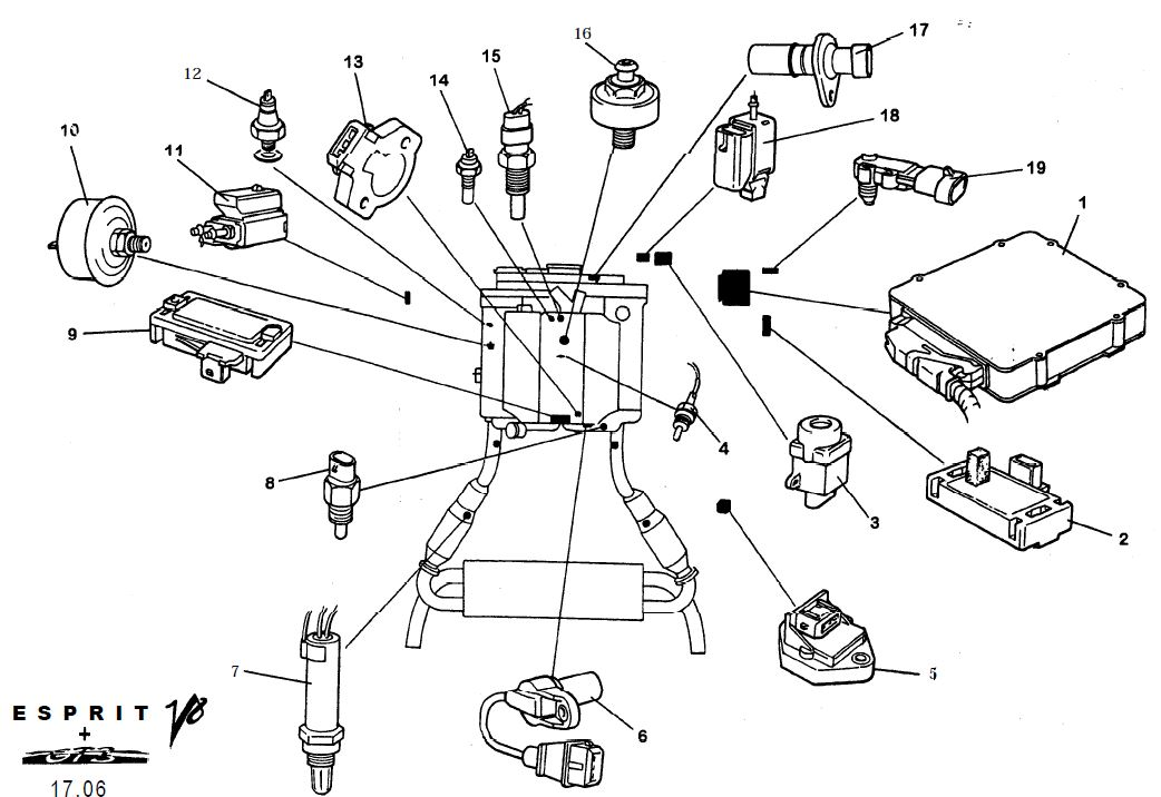 Lotu V8 Engine Diagram - Wiring Diagram