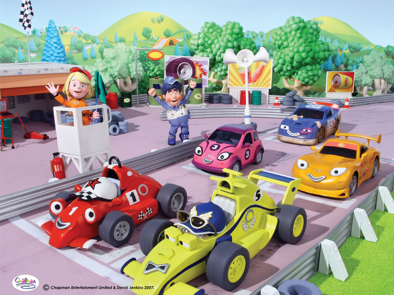 racing car wallpaper. Roary the Racing Car (kids#39;