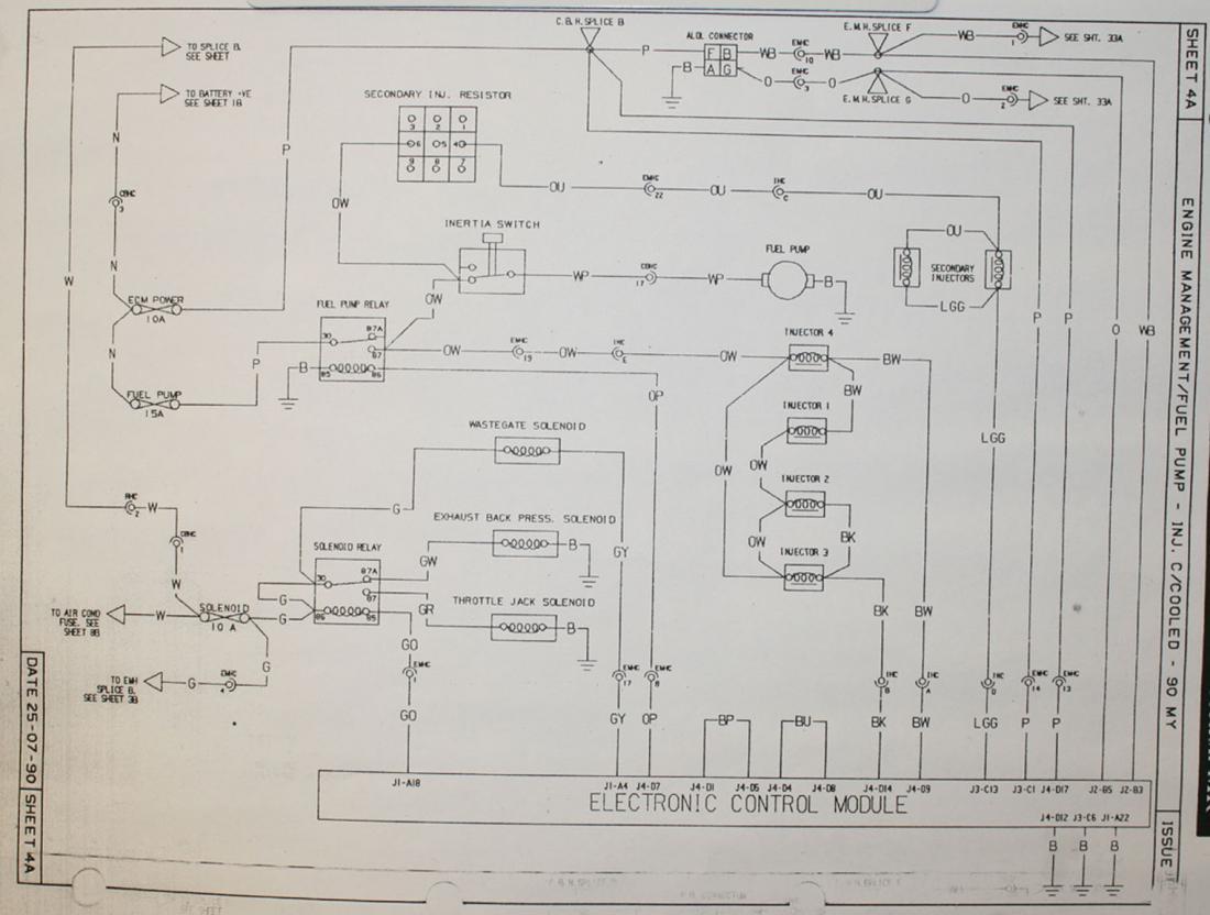 1990 se issues - ecm possibly defective? - lotustalk - the lotus, Wiring diagram