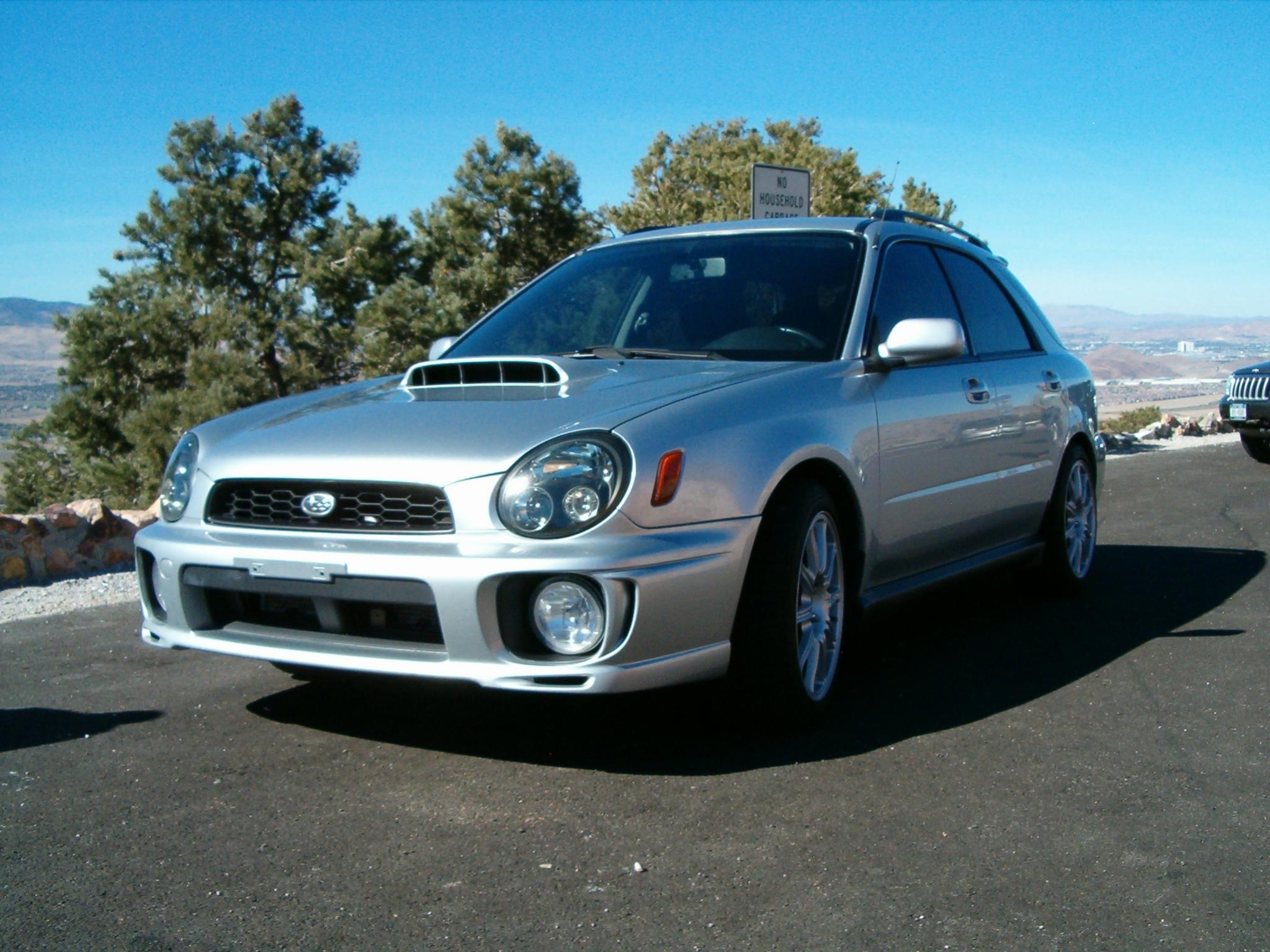 FSFT NV 02 WRX Wagon full STi Swap partial trade