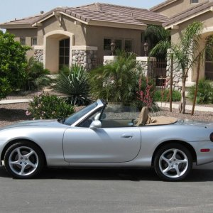 My old 2001 Miata where I loved the responsiveness
