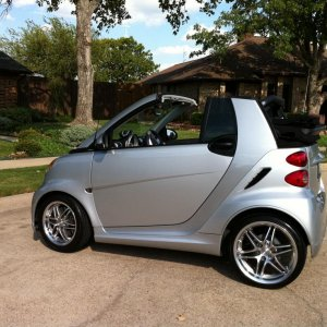 2009 Smart Brabus. Now sold.