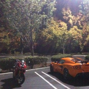 S260 Sport (US's CUP Lotus) and Triumph Daytona 675 sportbike