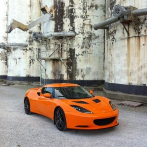 Another iPhone image of the Evora that I find to be stunning.