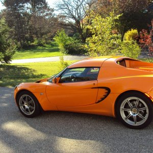 Chrome Orange Lotus W Hardtop