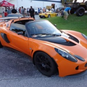 Exige At Dupont C&c This Morning