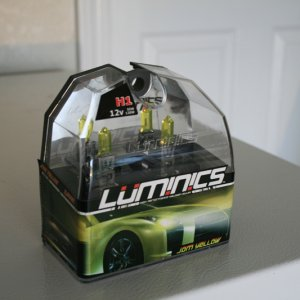 Jdm Yellow Luminics H1 Bulbs For Elise