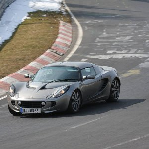 Elise On The Nurburgring
