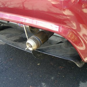 2Bular Exhaust with Supertrapp Tip