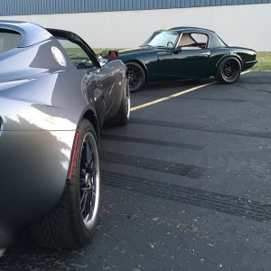 Lotus Generations..1965 Elan And 2005 Elise