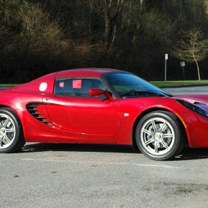 Canyon Red Elise